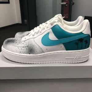 Customized authentic Air Force 1s